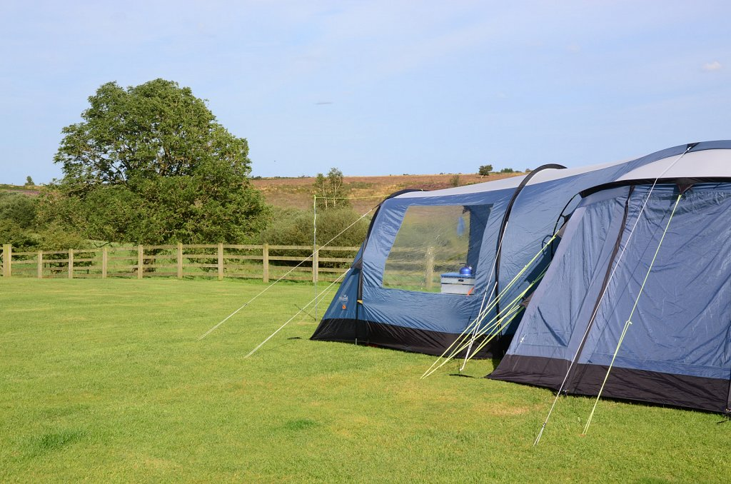 Camping at Folly Hall Farm