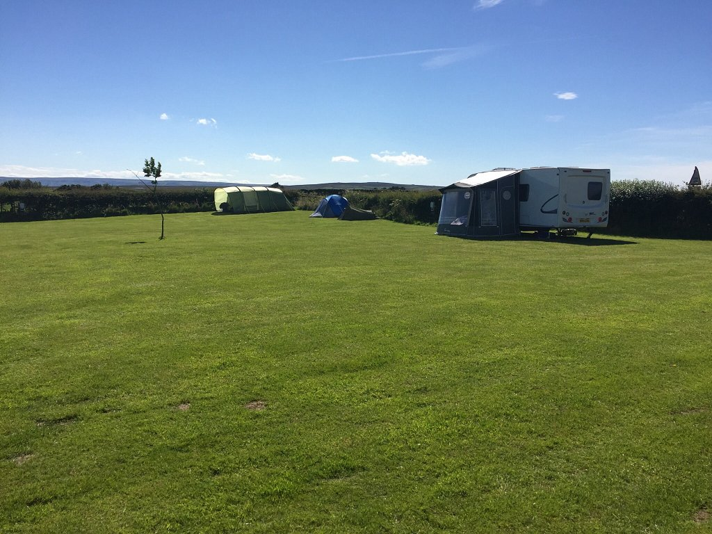 Caravan Pitches at Folly Hall Farm